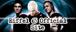 Eiffel 65 Official Web-Site